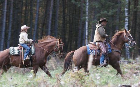 Krásný den u koní a westernová projížďka
