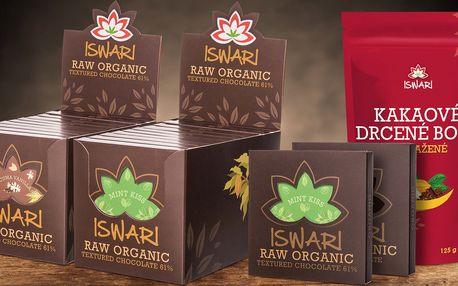 Balíček bio raw čokolád českého výrobce