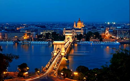 Luxusní neomezený wellness pobyt v centru Budapešti ve 4* hotelu
