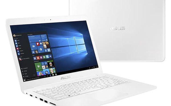 Notebook Asus E402NA-GA167T (E402NA-GA167T) bílý Software F-Secure SAFE, 3 zařízení / 6 měsíců + Monitorovací software Pinya Guard - licence na 6 měsíců v hodnotě 979 Kč + DOPRAVA ZDARMA