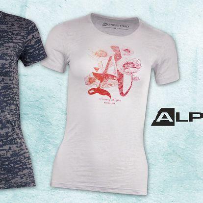 Dámská prodyšná trika Alpine Pro