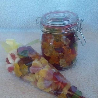 Různé mixy bonbonových kournoutů - 0,5, 0,75 či 1 kg