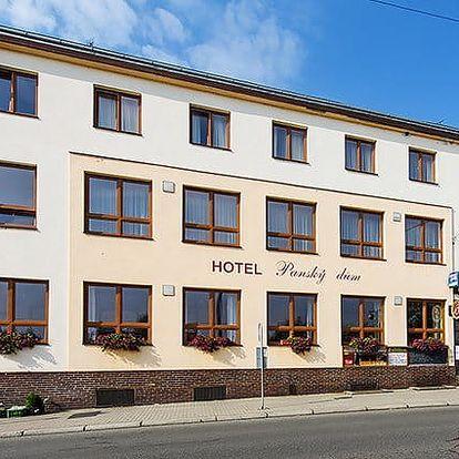 3–6denní pobyt pro 2 s polopenzí a možností vířivky v hotelu Panský dům Blovice u Plzně