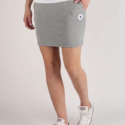 Sukně Converse Core Skirt Šedá