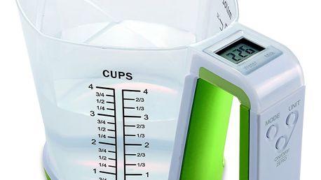 Digitální váha a odměrka JOCCA Green Cup