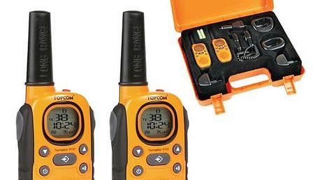 Vysílačky Topcom 9100 oranžová (5411519010568)