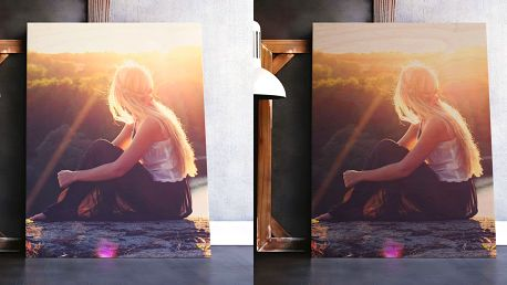 Fotoobraz z vlastních fotek na březovém dřevě, 6 rozměrů