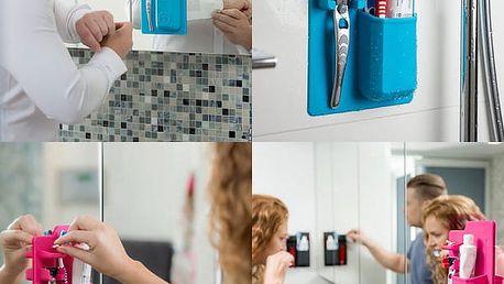 Silikonový držák do koupelny