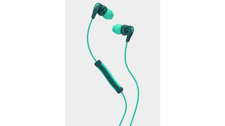Sluchátka Skullcandy METHOD IN-EAR W/MIC 1 TEAL/GREEN/GREEN Zelená