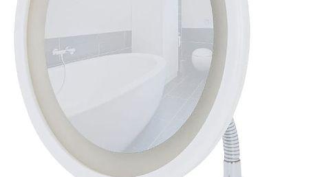 Bílé kosmetické zrcadlo s LED světlem Wenko Style