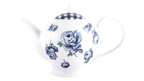 Porcelánová čajová konvice Creative Tops Vintage Indigo, 1,2l