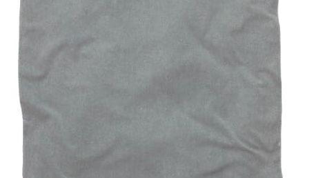 Šedá osuška Hamam Seahorse Pessinus,100x180cm
