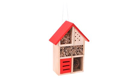 Domeček pro hmyz, červená