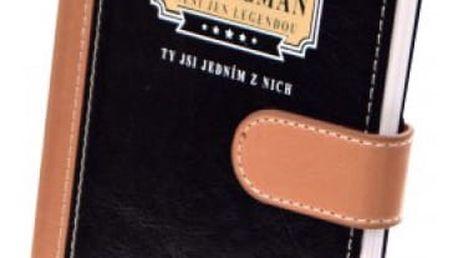 Luxusní zápisník Liga gentlemanů