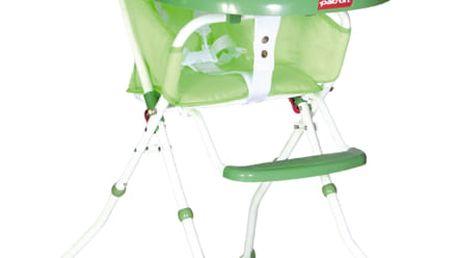 PATRON Jídelní skládací židlička Bee 2018 – owl green