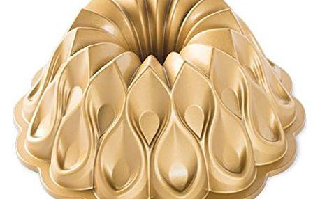Forma na bábovku ve zlaté barvě Nordic Ware Crown, ⌀25cm