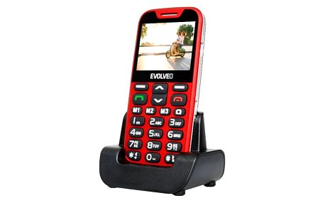 EVOLVEO EasyPhone XD - Red