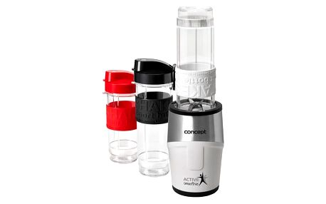 CONCEPT SM3380 smoothie maker Active Smoothie 500 W bílý 2 x 570 ml + 400 ml