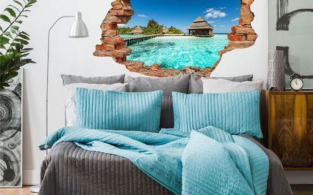 Samolepka Ambiance Beach Villas on Tropical Island