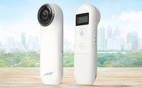 360° kamera pro nevšední zachycení zážitků