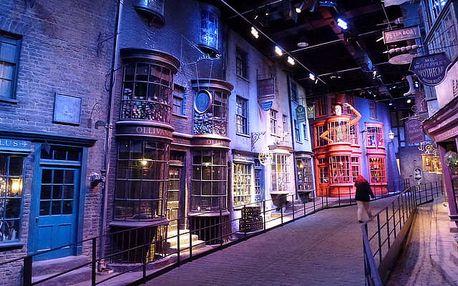 Londýn a ateliéry Harry Potter na 4 či 5 dní s ubytováním pro 1 os.