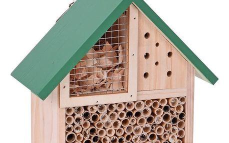 Domeček pro hmyz, zelená