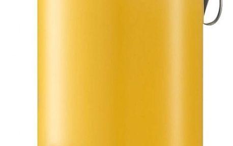 Koupelnový koš, odpadkový koš - 3 l, žlutá, mat, ZELLER