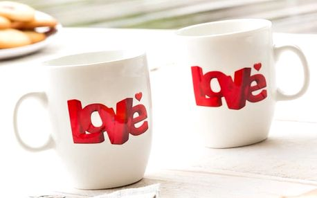 Hrnky Love Romantic Items 2 kusy