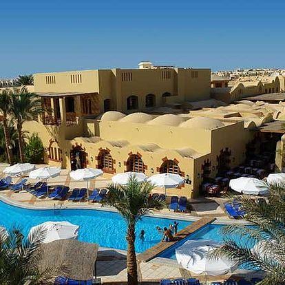 Egypt - Hurghada na 7 dní, all inclusive s dopravou letecky z Prahy