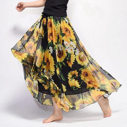 Dlouhá vzdušná sukně Summer - různé varianty