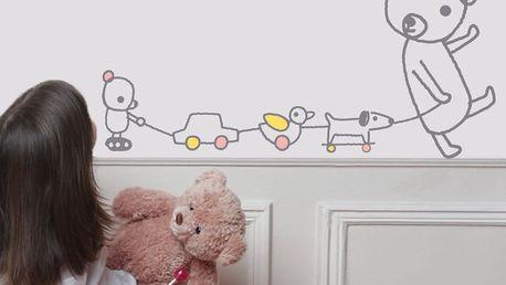 Nástěnná samolepka Art For Kids Paint Club