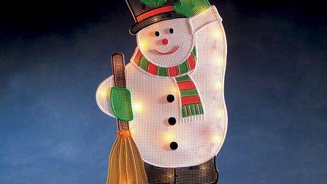 Sněhulák na okno Salem, 20 žárovek