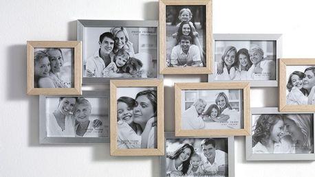 Nástěnný fotorámeček na 10 fotografií Tomasucci Combi