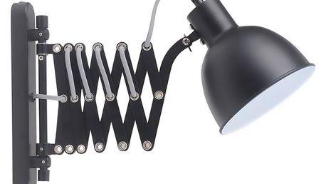 Černé nástěnné svítidlo BRITOP Lighting Talaro