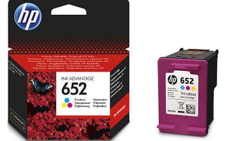 Inkoustová náplň HP 652, F6V24AE (originální) (F6V24AE)
