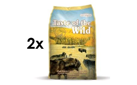 Taste of the Wild High Prairie 2 x 13 kg