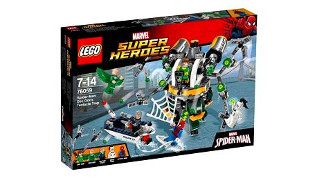 LEGO® SUPER HEROES™ 76059 Spiderman: Past z chapadel doktora Ocka