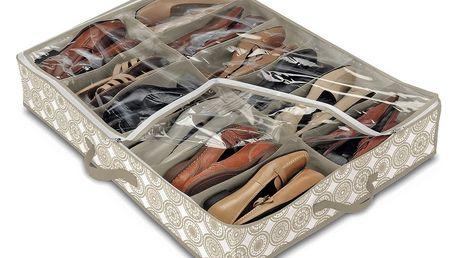 Organizér na 12 párů obuvi Domopak Ella