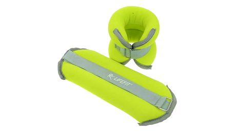 LIFEFIT ANKLE/WRIST WEIGHTS 2 x 2,0kg zelené