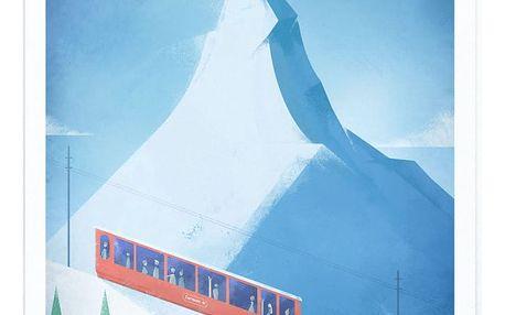Plakát Travelposter Zermatt, A3
