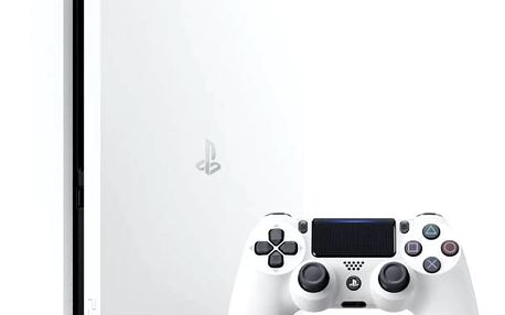 Sony PlayStation 4 SLIM 500GB (PS719816164) bílá