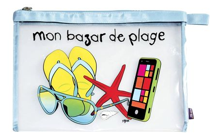 Taška na cestovní doplňky Mon bazar de plage