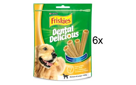 FRISKIES Friskies Dental Delicious 6 x200 g M