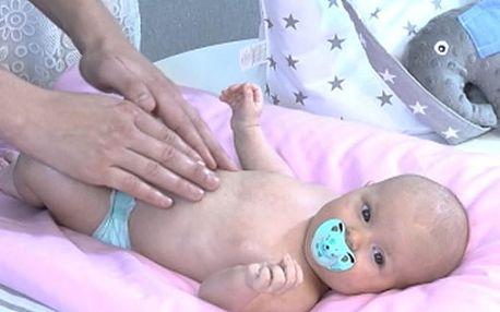 On-line kurz masáží miminek nebo těhotných, roční přístup k on-line video kurzům.