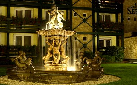 3 až 6denní wellness pobyt pro 2 v Grand hotelu Sergijo**** v lázeňském městě Piešťany