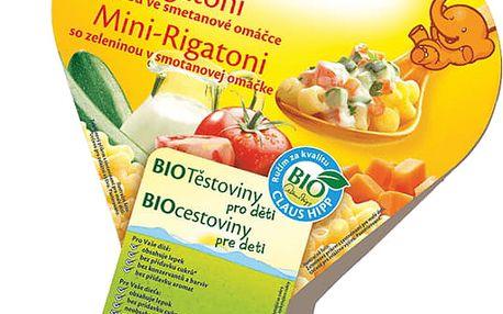 6x HIPP BIO Mini Rigatoni se zeleninou ve smetanové omáčce (250 g)