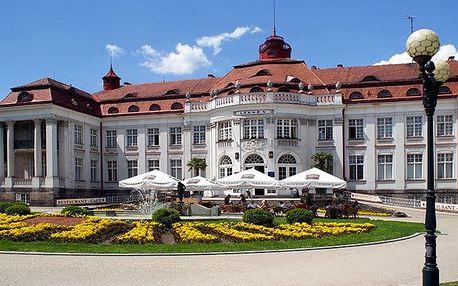 3denní wellness pobyt pro 2 s polopenzí v hotelu Krásná Královna**** v Karlových Varech