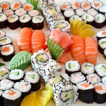 4 varianty sushi setů s polévkou: 24 až 91 kusů