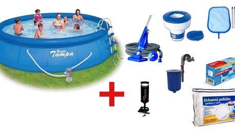 Marimex | Bazén Tampa 4,57x1,22 m s kartušovou filtrací a příslušenstvím | 19900042