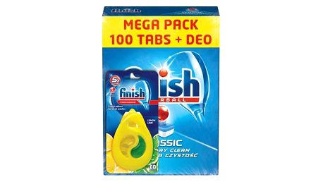FINISH Classic Regular 100ks + DEO Lemon